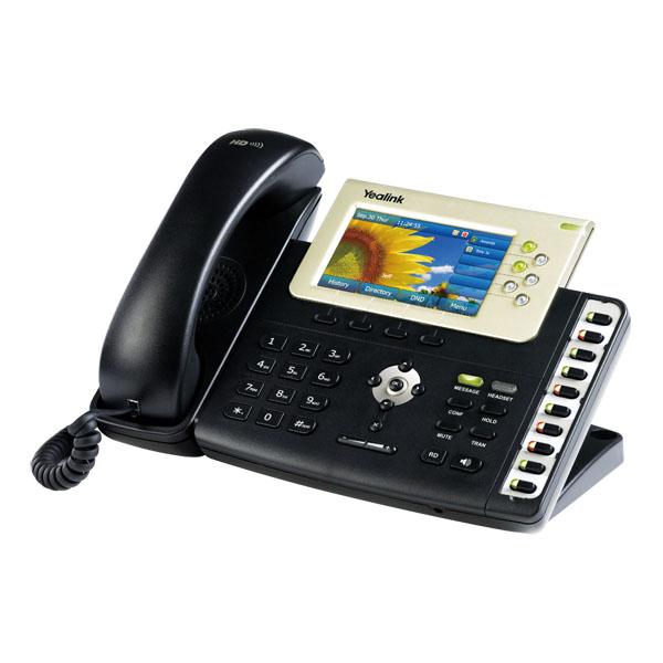 گوشی شبکه یلینک Yealink SIP-T38G