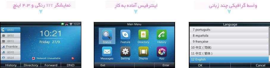 گوشی شبکه Atcom Rainbow 4