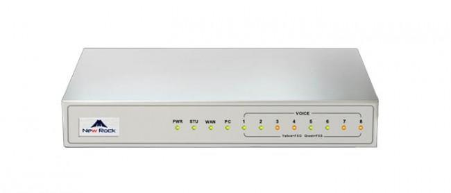 Newrock MX8A-4FXO Gateway