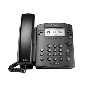 گوشی شبکه پلیکام Polycom VVX 300 IP Phone