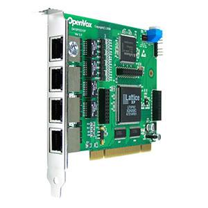 کارت شبکه دیجیتال اپن وکس OpenVox D410P