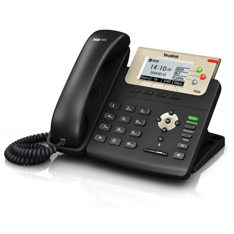 گوشی شبکه یلینک Yealink SIP-T23G IP Phone