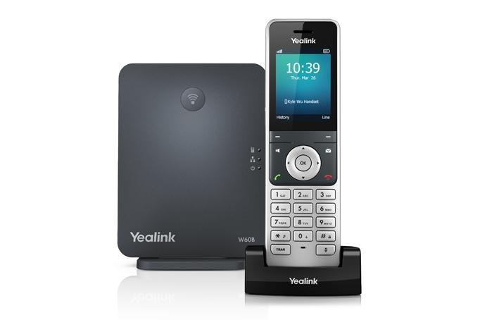 گوشی شبکه بیسیم یلینک yealink-W60P