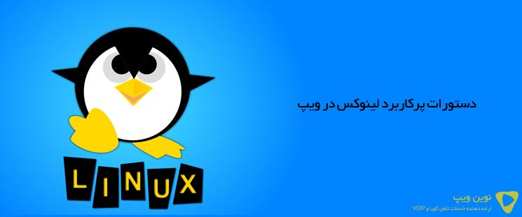 دستورات پرکاربرد لینوکس در ویپ